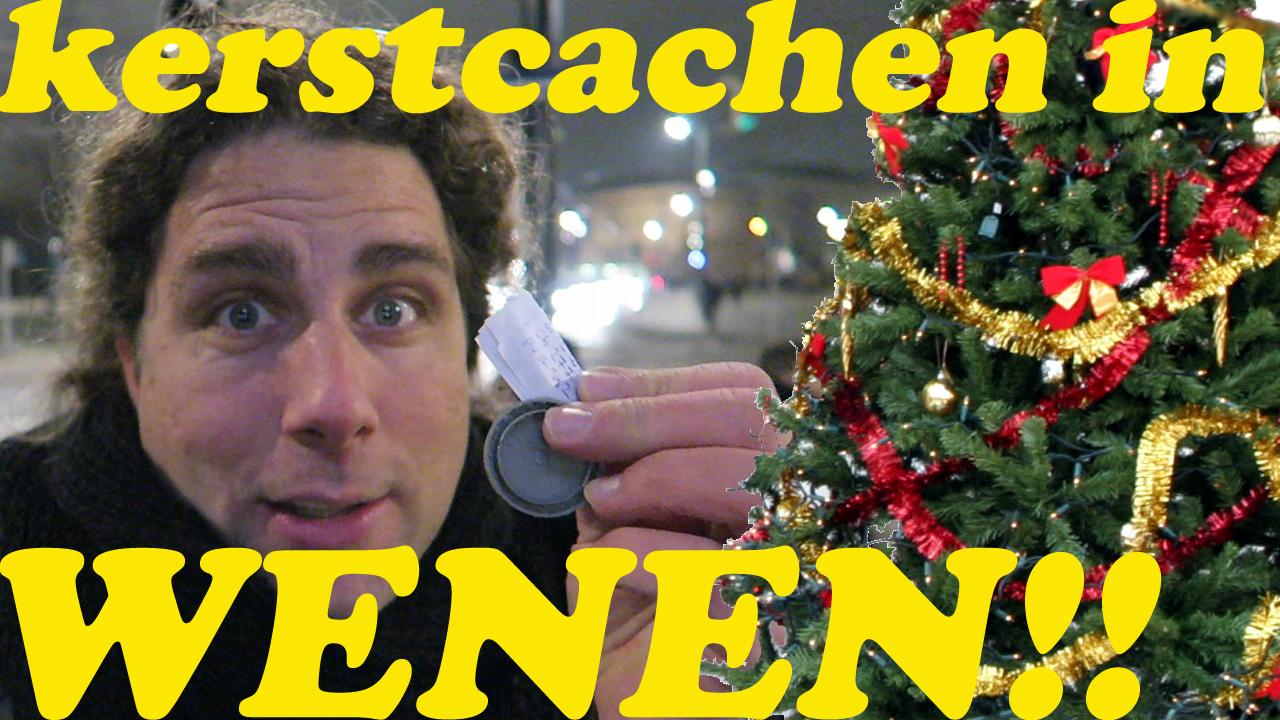 GEOCACHEN OP DE KERSTMARKT IN WENEN!!