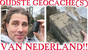 OUDSTE GEOCACHE(S) VAN NEDERLAND!!