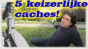 5 KEIZERLIJKE GEOCACHES!!